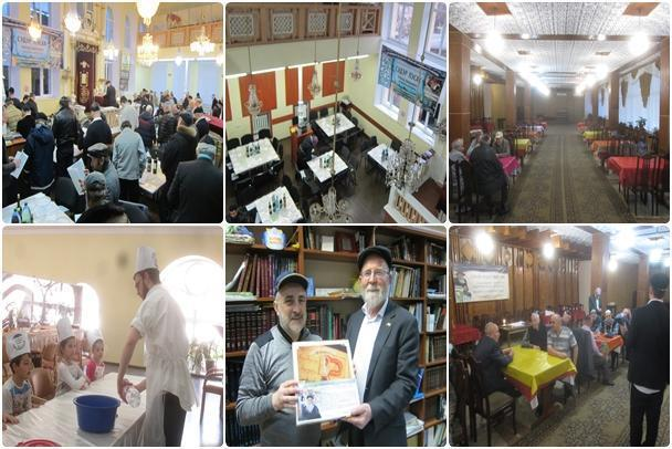 Moldova Holds Passover Sedorim Across the Country