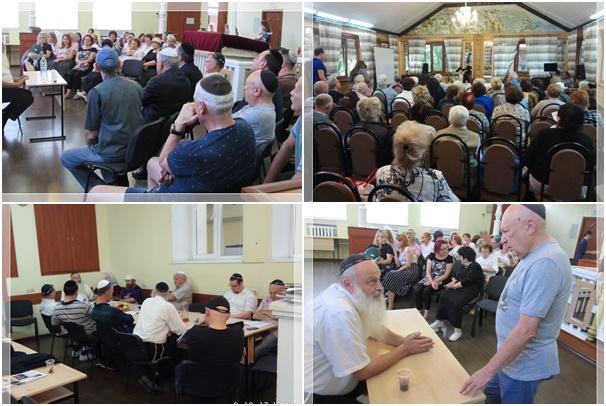 מאות מיהודי מולדובה בעצרות התעוררות עם הרב דניאל בולשניק