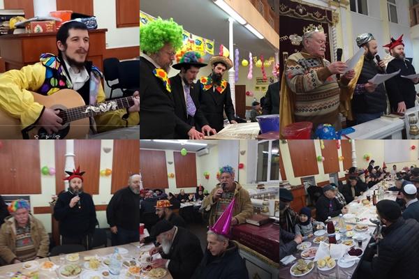 Moldova's Purim Warm, Below Zero Temp