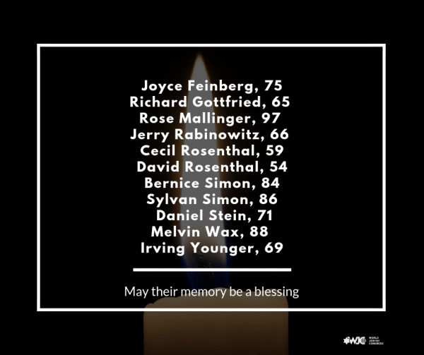 Our hearts ache for the victims of the unspeakable act of hate perpetrated against the Jewish community in Pittsburgh.