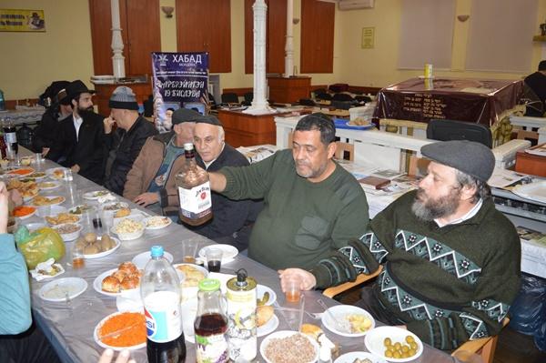 Chabad Moldova Celebrates Despite the Bitter Cold
