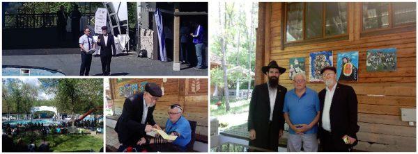 Рав Йосеф Абельский на мероприятии Израильского Культурного Центра (ИКЦ) в Кишиневе.