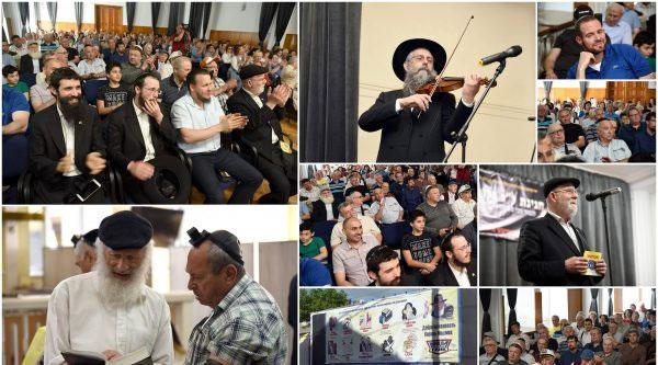 Hundreds of Moldovan Jews gathered for a Lag B'Omer program
