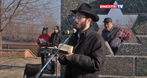 27 Января 2020 в международный день памяти жертв Холокоста в Бендерах