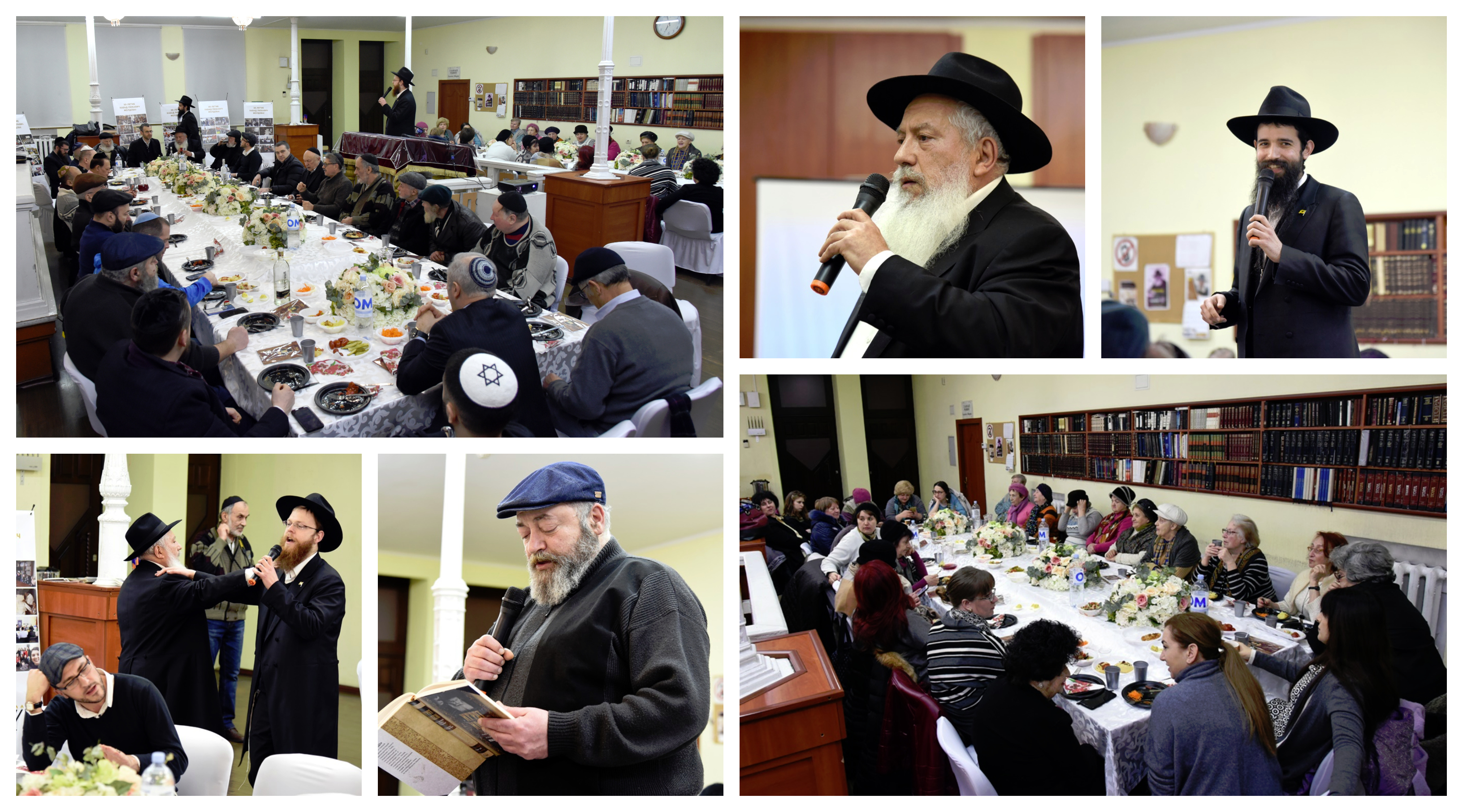 Rabbi Shlomo Raskin Inspires Kishinev Jewish Community