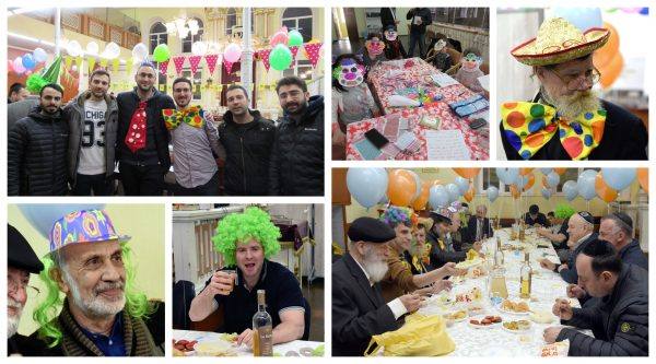 Despite the Coronavirus Joyous Purim Celebrated in Moldova