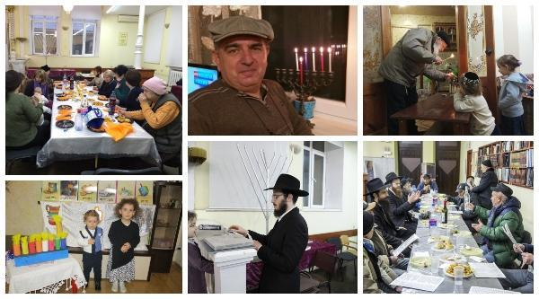 Chanukah events take place in Kishinev – with lots of warmth and joy